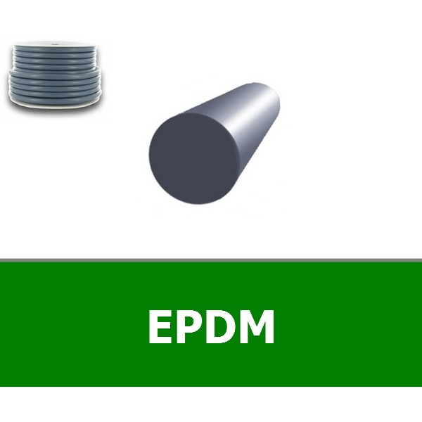 CORDE RONDE 7.50 mm EPDM 70 SHORES