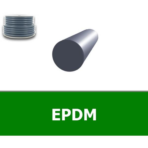 CORDE RONDE 8.00 mm EPDM 70 SHORES BLANC
