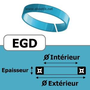 SEGMENT DE GUIDAGE 18.9x22x3.9 Vx1 EGD Vx
