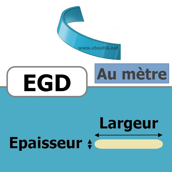 SEGMENT DE GUIDAGE 9.7x4.00 EGD PH AU METRE