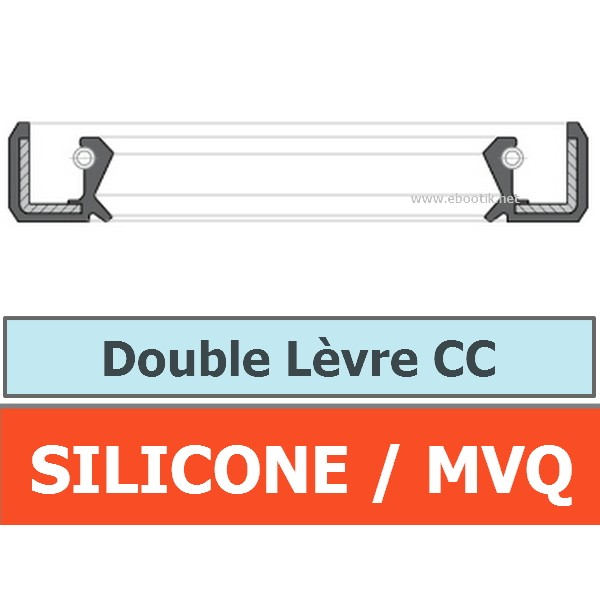 JOINT 10x20x7 CC / DOUBLE LEVRE MVQ