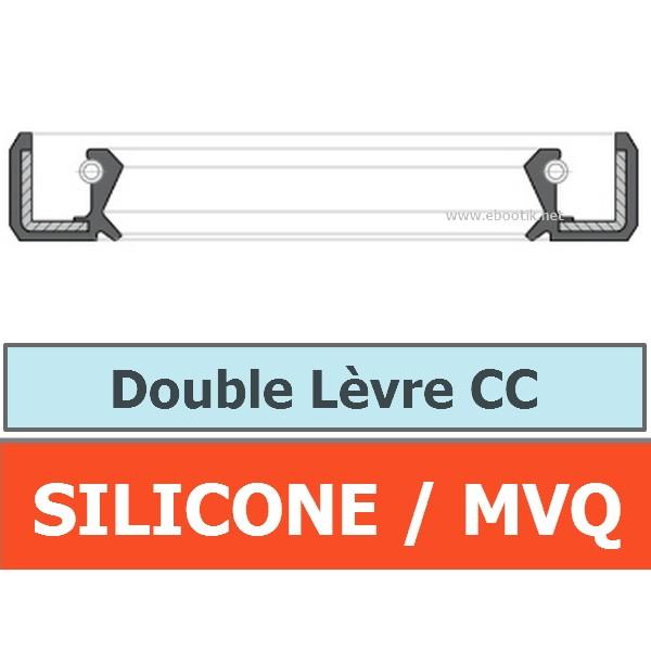 JOINT 12x30x7 CC / DOUBLE LEVRE MVQ