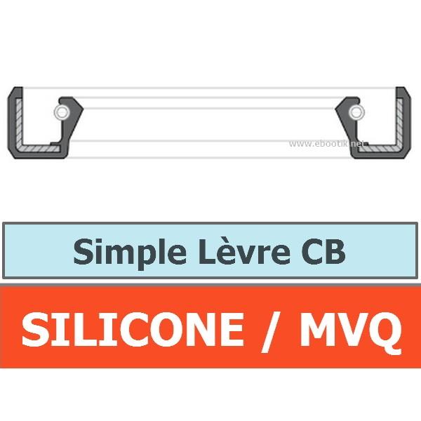 JOINT 17x28x7 CB / SIMPLE LEVRE MVQ