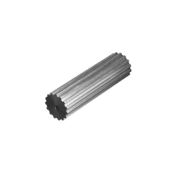 BARREAU CRANTEE 30 Dents T2.5 x125 mm ALUMINIUM