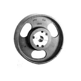 POULIE PLATE 80x80 mm TL1615