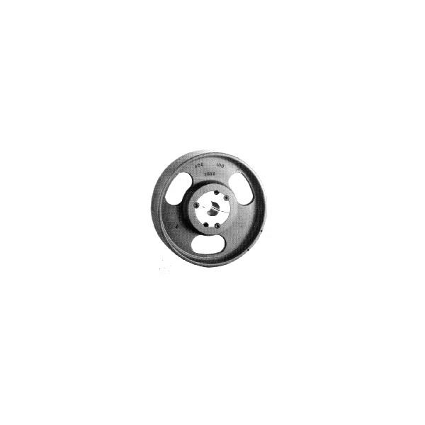 POULIE PLATE 125x32 mm TL1610