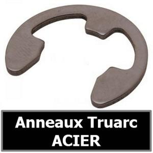 Anneau Truarc 5.00 mm (pour arbre/axe) en ACIER